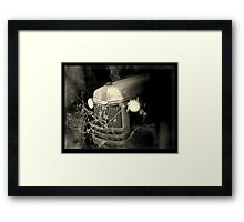 Built Ford tough.. Framed Print