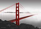 Golden Gate Bridge (Vectorillustration) by CarolinaMatthes