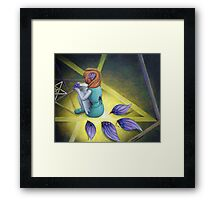 Fallen Fairy Framed Print