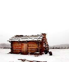 Fort Dobbs Cabin by Jay White