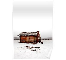 Fort Dobbs Cabin Poster