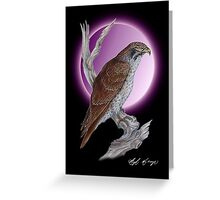 "Falcon ""WiseThoughts"" Greeting Card"