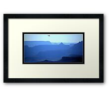 Flying Over the Grand Canyon Framed Print