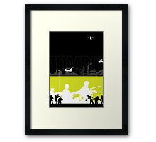 Zombie Hunt Framed Print
