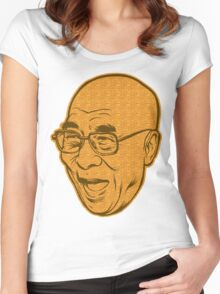 Dalai Lama Disobey Women's Fitted Scoop T-Shirt