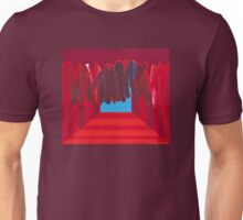 Distorted by Information Noise - acrylic on canvas Unisex T-Shirt