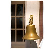 Brass Bell, Hope Town, Abaco, Bahamas Poster