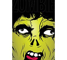 Zombie Scream Photographic Print