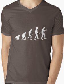 Zombie Evolution Mens V-Neck T-Shirt