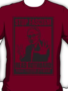 Stop Fascism: Read Rothbard T-Shirt