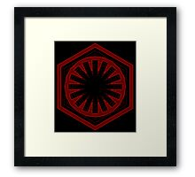Star Wars First Order - Tunnel Framed Print