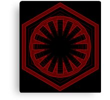 Star Wars First Order - Tunnel Canvas Print
