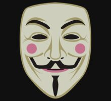 Guy Fawkes Mask by LibertyManiacs