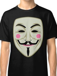 Guy Fawkes Mask Classic T-Shirt