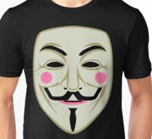 Guy Fawkes Mask Unisex T-Shirt