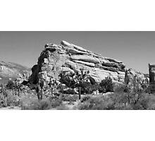 Hidden Valley Black & White Photographic Print