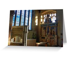 Lady Chapel, St Mary, Goudhurst Greeting Card