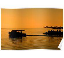 Morning Voyage, Nassau, Bahamas Poster