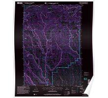 USGS Topo Map Idaho Sturgill Creek 238353 2004 24000 Inverted Poster