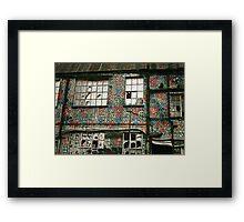 Warehouse. Framed Print