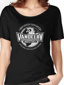 Vandelay Industries (white) Women's Relaxed Fit T-Shirt