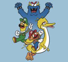 Super Ernie-o World Kids Tee