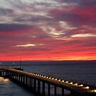 Sunrise Lorne Pier, Great Ocean Rd by Joe Mortelliti