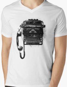 Communication's Typhone Mens V-Neck T-Shirt