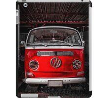 Volkswagen combi Red iPad Case/Skin