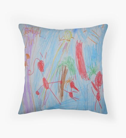 Phineas and Ferb Throw Pillow