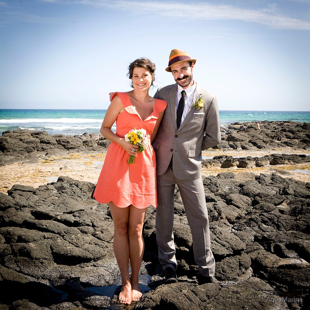 Mike and Zoe's Knot - bridesmaid and best man by AquaMarina
