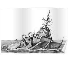 The Kraken! Poster