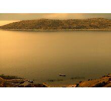 Tranquilidad en Isla del Sol Photographic Print