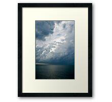 Storm Clouds, Nassau, Bahamas Framed Print