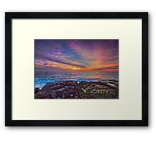 Colours of the Rainbow Framed Print
