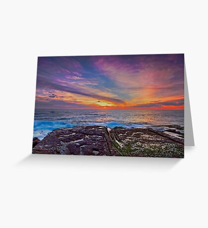 Colours of the Rainbow Greeting Card