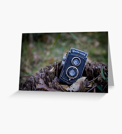 Old Rollei Greeting Card