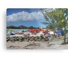 Caribbean Colours Metal Print