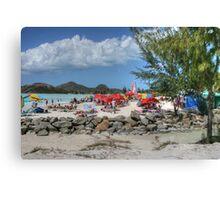 Caribbean Colours Canvas Print