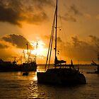 Setting Out, Spanish Wells, Eleuthera, Bahamas by Shane Pinder