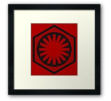 Star Wars First Order - Tunnel 2 Framed Print