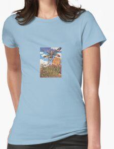 Butterloggie Womens Fitted T-Shirt