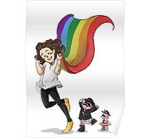 Rainbow Hero Poster