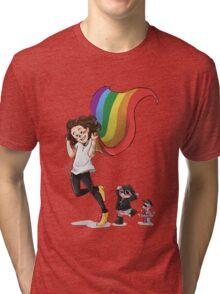 Rainbow Hero Tri-blend T-Shirt