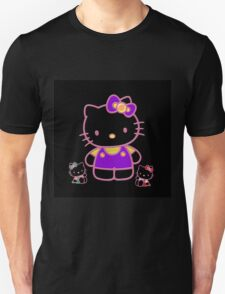 Cute Pink Funny Kitty  Unisex T-Shirt