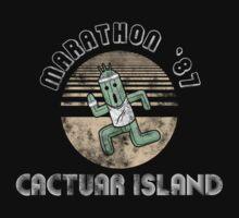 Cactuarathon- Final Fantasy Parody Kids Clothes