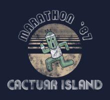 Cactuarathon- Final Fantasy Parody Kids Tee