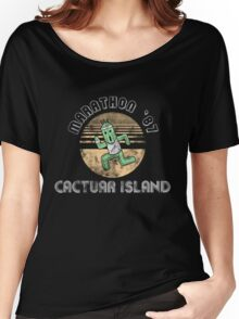 Cactuarathon- Final Fantasy Parody Women's Relaxed Fit T-Shirt