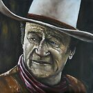 JOHN WAYNE-THE DUKE by Wayne Dowsent