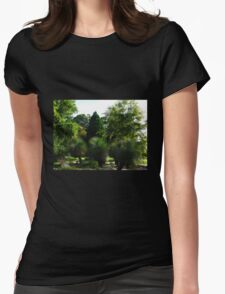 Grass Trees - Blue Mountains Botanic Gardens Womens Fitted T-Shirt